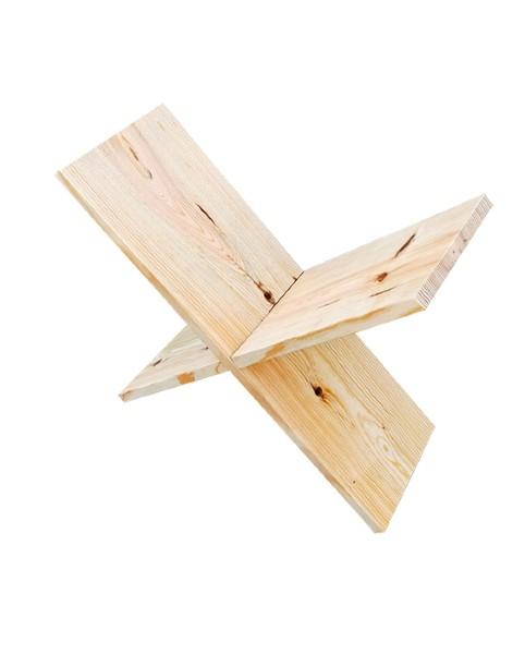 Revistero decorativo de madera. Fabicación artesanal y moderna