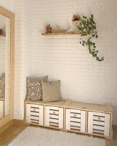 estanteria de madera maciza benel
