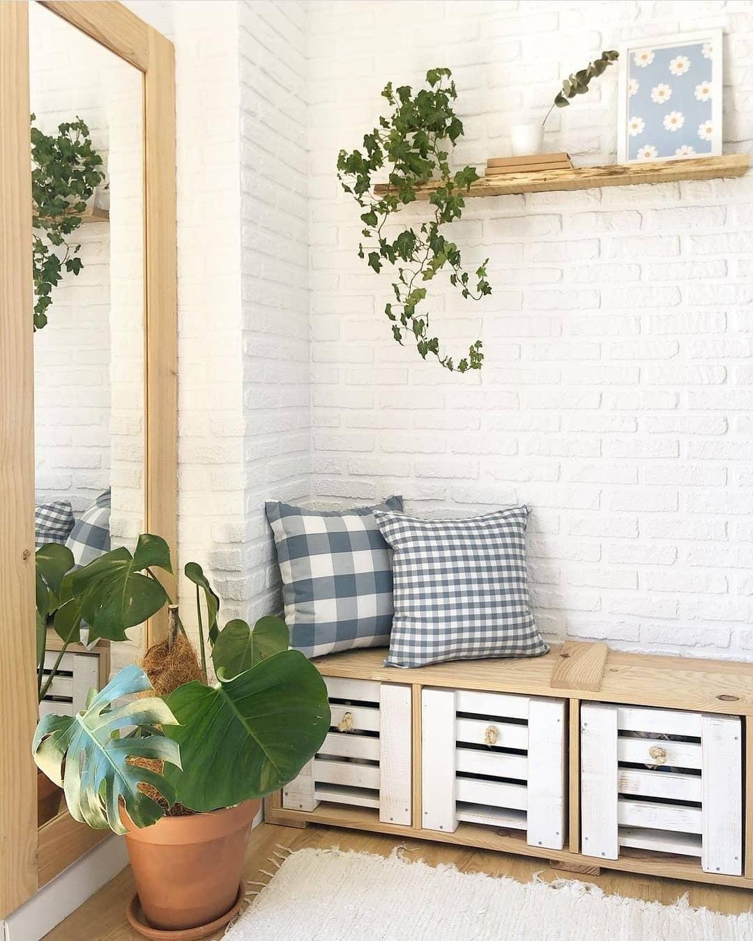 Estantería mueble organizador para recibidor utile