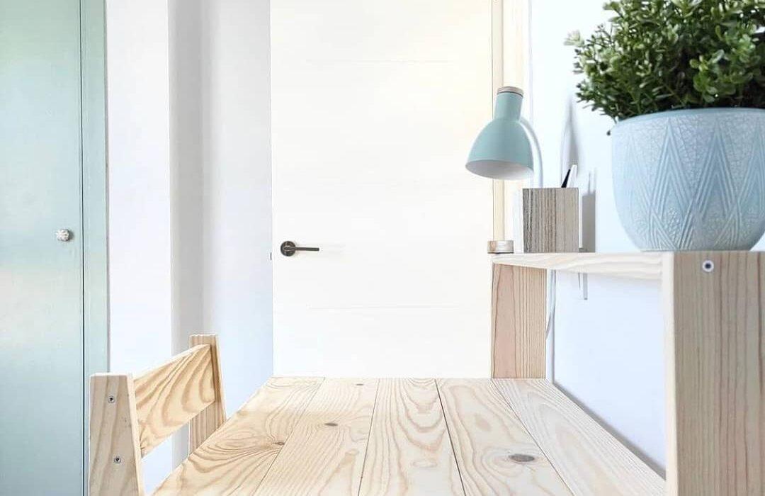 El color blanco es fundamental en la decoración para generar más luz.