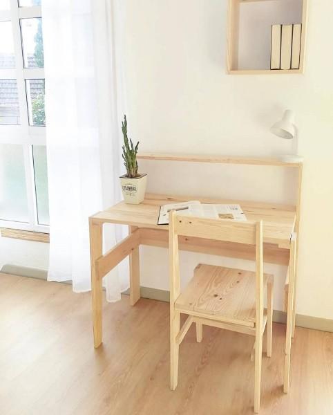 mesa de escritorio para trabajar en casa
